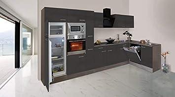 respekta Economy L-Form Winkel Küche Küchenzeile Eiche York ...