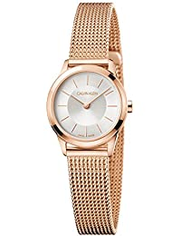 Women's Minimal Extension Watch - K3M23626 Silver/Rose Gold One Size