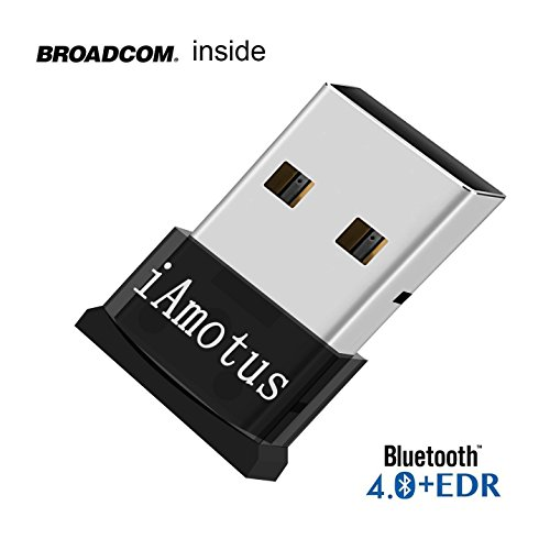Fellee Bluetooth 40 USB Dongle Adapter, Bluetooth Transmitter Receiver  Supports Windows 10, 8, 7, Vista XP 3264 Bit Laptop PC