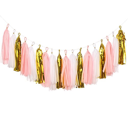 Pink and Gold Room Decor: Amazon.com