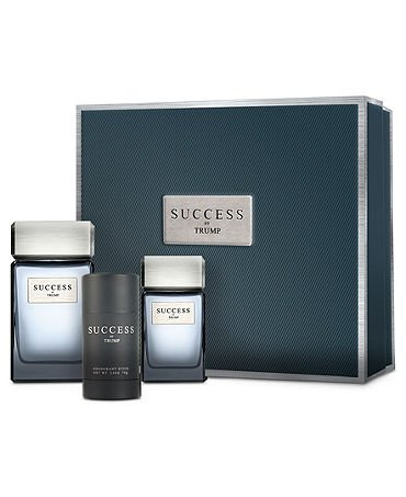 SUCCESS by TRUMP 3 PIECE Gift Set for Men (3.4 FL OZ EDT Spray, 1 FL OZ EDT SPRAY and 2.5 OZ Deodorant Stick)