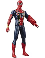 "Marvel Avengers - 12"" Spiderman Iron Spider Action Figure - Titan Hero Series - End Game - Kids Super Hero Toys - Ages 4+"