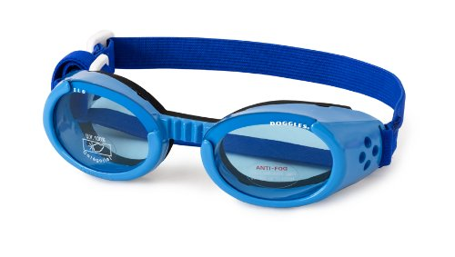 DOGGLES BLUE ILS SUNGLASSES UV PROTECTIVE EYEWEAR ALL SIZES (XS) by Doggles