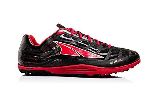 Altra Men's Golden Spike Running Shoe, Black/Red, 9 M US