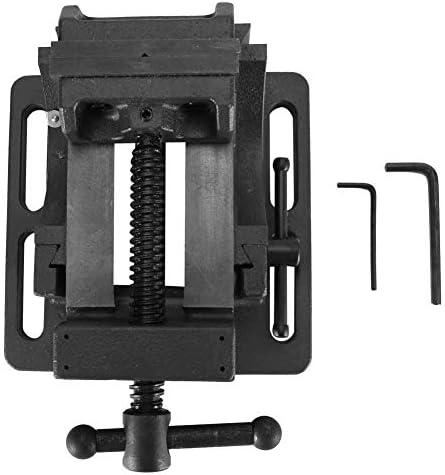ZKS-KS 傾斜バイス、チルトプレスバイス木工金属加工(#1)のために設計長寿命で0〜90°のチルトヘビーデューティガイドロッドクランプをドリル