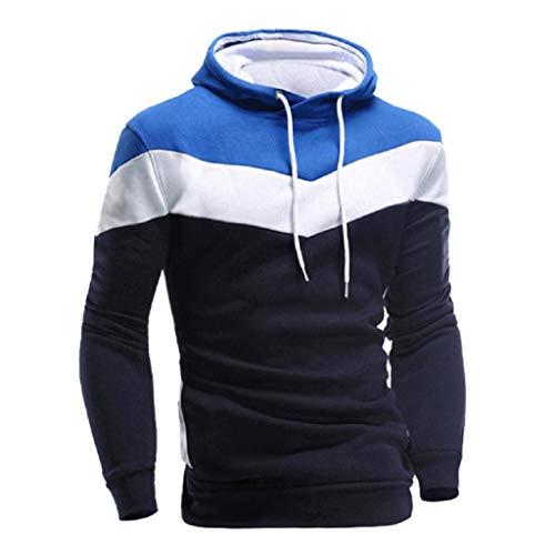 48ce61ecd032 REYO Men's Jackets Casual Sale, Men Retro Long Sleeve Hoodie Hooded  Sweatshirt Tops Jacket Coat