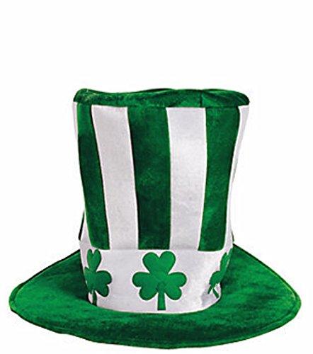 (St Patricks Day 15 Basketball Uncle Sam Big Hat Accessory Men Women Headware Costume)