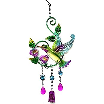 Amazon.com : Bejeweled Display® Hummingbird & Flower w