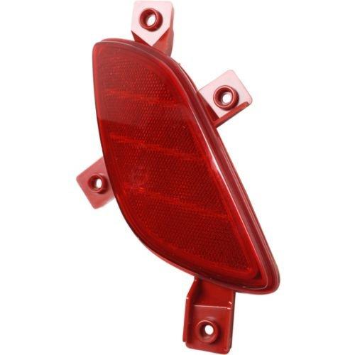 自動車部品製造 - 運転席側リアバンパーカバー反射板; GTハッチバックモデル用 - HY1184111C 0767787481124 B01N7WAYHE  HY1184111C