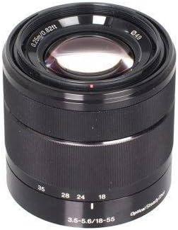 Sony Alpha SEL1855 E-Mount 18-55mm F3.5-5.6 OSS Lens Black
