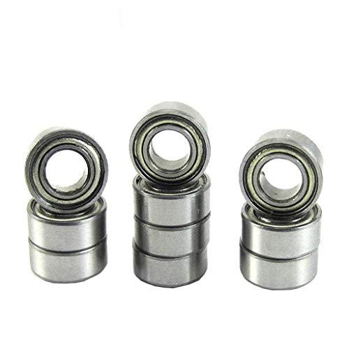 (Hobbypower MR105ZZ 5104mm Bearing Deep Groove 5x10x4mm Sealed Ball Bearings (pack of 10 pcs))