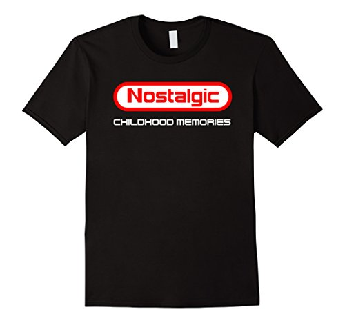 Men's Nostalgic Childhood Memories Nintendo Style T-shirt