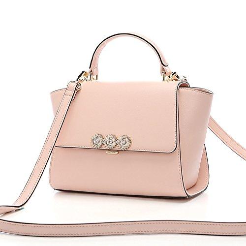 LEODIKA Sac unique Pink sac à Femme bandoulière besace rose main Nouveau sac à Sac Lady rrd64gq