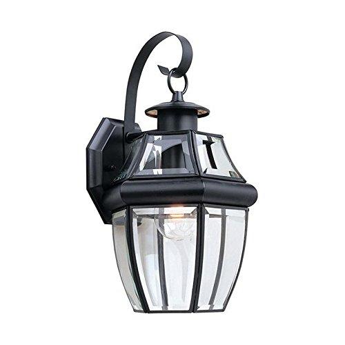 (Sea Gull Lighting 8067-12 Lancaster Outdoor Fixture One-Light Black Finish)