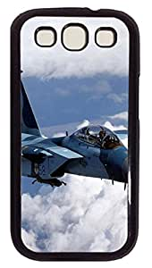 Samsung Galaxy S3 I9300 Cases & Covers - F-15 Eagle Fighter 2 Custom PC Soft Case Cover Protector for Samsung Galaxy S3 I9300 - Black