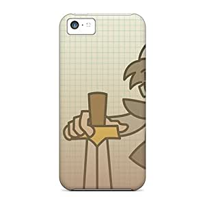 New Fashion Premium Cases Covers For Iphone 5c - Paper Dungeons Male Warrior
