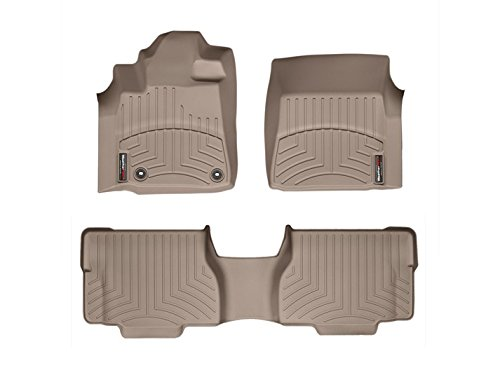 WeatherTech 454081 – 450937 DigitalFit Floorlinerセット( Tan ) B01049UJTS  - -