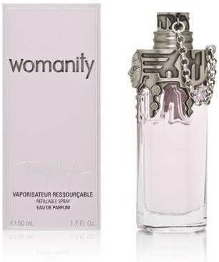 Thierry Mugler Womanity Eau de Parfum Spray for Women 50 ml, 50 ml