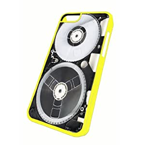 iPhone 5c Yellow Case Vhs Cassette Tape