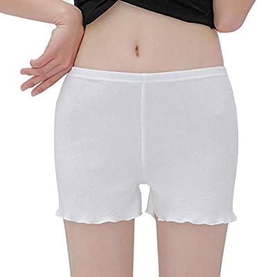 LuMon Enagua Pantalones Cortos, Mujer sin Costuras Seguridad ...