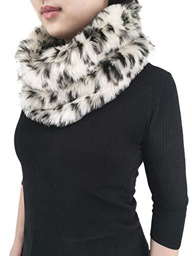 (Women's Winter Faux Fur Scarf Wrap Shawl Shrug)