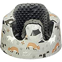 Wild Animal Bumbo Seat Cover, Handmade Cover for Floor Seat Bumbo, Fitted Bumbo Cover