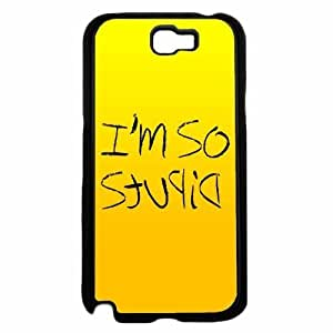 I'm So Stupid- Hard PC SILICONE Phone Case Back Diy For LG G2 Case Cover