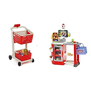 Little Tikes Shop 'n Learn Smart Cart and Smart Checkout - Bundle