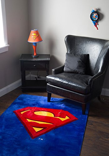 JP Imports Superman Shield Logo 4' X 6' Area Rug by JP Imports