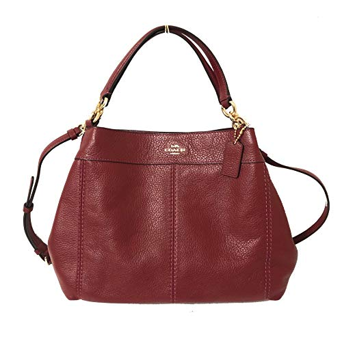 COACH SMALL LEXY SHOULDER HANDBAG CHERRY ()