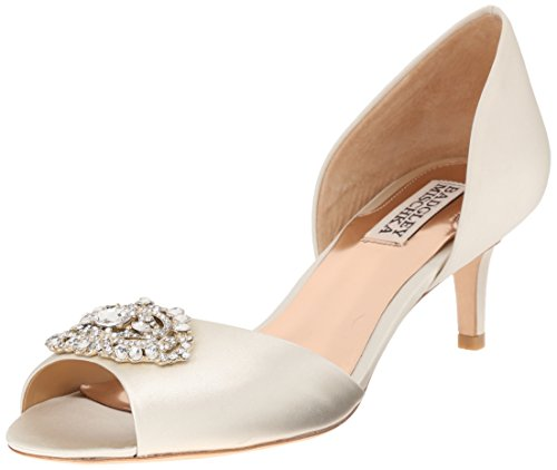 Badgley Mischka Womens Petrina DOrsay Pump Ivory