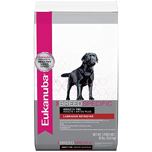Eukanuba Breed Specific Adult Labrador Retriever Dog Food 30...