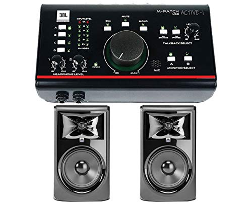 JBL 308P MkII Pair + FREE M-Patch Active-1 ()