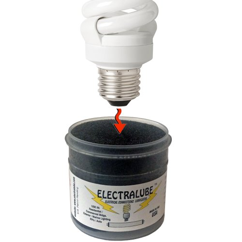 Light Bulb/Electrical Lubricant/Anti-Oxidant - Prevents corrosion/broken bulbs, LED - 4' bulbs, Refrigerator/Microwave, Stove bulbs. 3 Way plugs & Electrical contacts. Non-Toxic formula. (3 Ways Fridge)