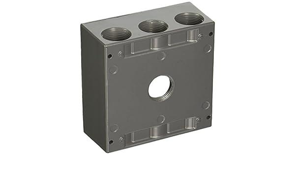 Thomas /& Betts LE 2IH7-2 RAINTIGHT DEV BOX 2 GANG RED2IH72