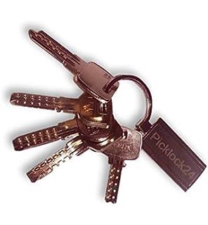 Picklock24. Juego de llaves maestras universales (bump keys ...