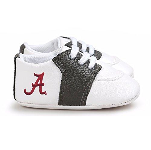Future Tailgater Alabama Crimson Tide Pre-Walker Baby Shoes - Black Trim ()