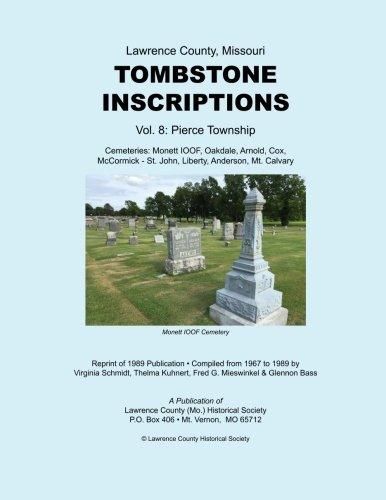 Download Lawrence County Missouri Tombstones Vol. 8 ebook
