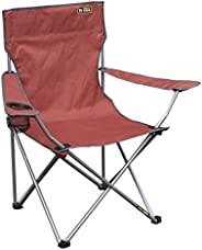 Quik Chair Portable Folding Chair with Arm Rest Cup Holder and Carrying and Storage Bag (Renewed)