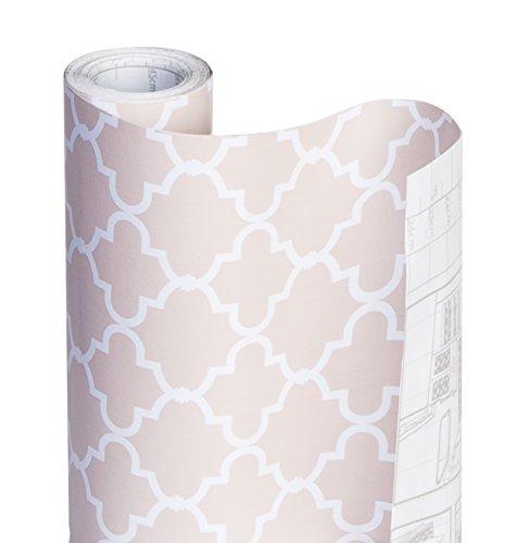 Decorative Shelf Liner (DAZZ 8607402 Chantilly Blush Adhesive Decorative Shelf)