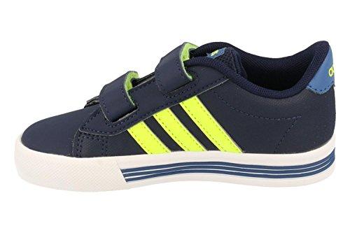 adidas Unisex Baby Daily Team Inf Sneaker Blau (Maruni / Amasol / Azubas)