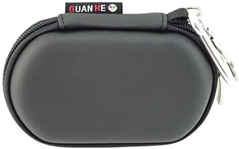 [USB Flash Drive Case] - GUANHE Universial Portable Waterproof Shockproof Electronic Accessories Organizer Holder / USB Flash Drive Case Bag - Black