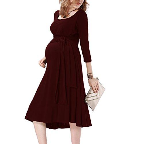 breastfeeding maternity dresses - 1