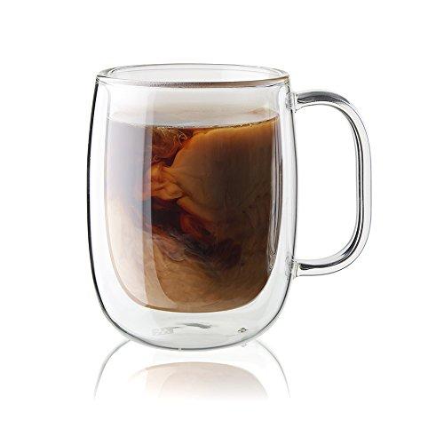 ZWILLING J.A. Henckels 39500-095 Coffee Mug 2 Piece, Clear