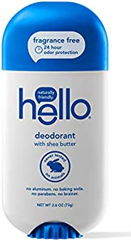 Hello Oral Care Activated Charcoal Clean + Fresh Deodorant