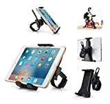 SUHOO Tablet Holder for Spinning Bike, Universal iPad Mount for Indoor Gym Equipment