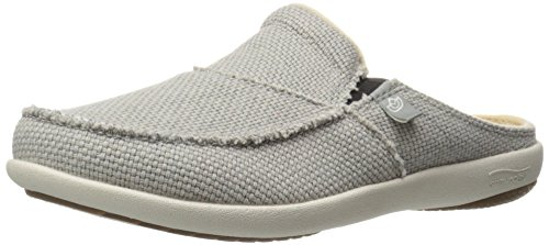 Spenco Women's Siesta Slide Mule, Opal Grey, 8 M US
