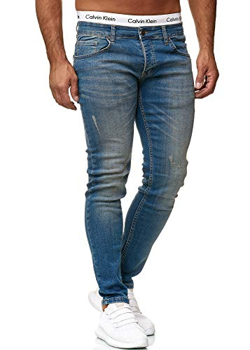 Oneredox Vaquero Blue Dirty Hombre Para Used 613 Skinny AAqwrp