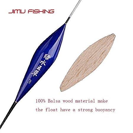 Amazon.com: CUSHY 3pc/lot Bala Fihing Float Buoy Hallow Water Flotador Bright Boya Carp Fihing Tackle Acceorie: IZE 1
