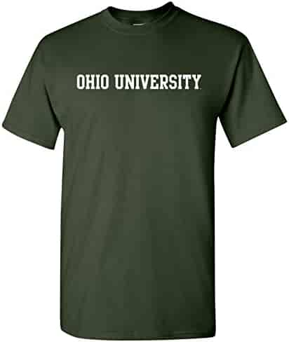 AS01 - Ohio University Bobcats Basic Block T-Shirt – 3X-Large - Forest